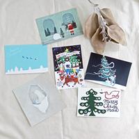手紙社|冬のポストカードセット