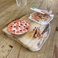 西荻ペーパートライ| Pizza Tree card 3枚組