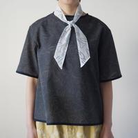 Canako Inoue|garden ツイリーハンカチ(white-blue)