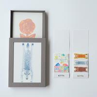 HITOTOKI|【数量限定】イベント限定KITTA×hacobuchi×ケモノポストカードセットB