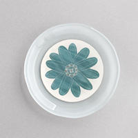 菊田佳代 15花の丸皿
