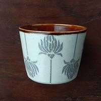 kinoki pottery|陶小町/蕎麦猪口(並ぶ野花)