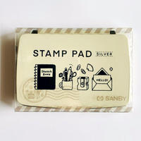 eric|STAMP PAD〔SILVER〕