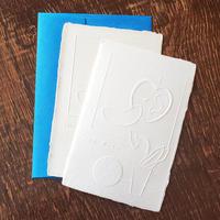 ウィギーカンパニー 手漉き越前和紙の立体カードセット・耳