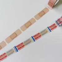 cobato マスキングテープ「絆創膏」 2種セット