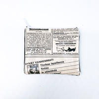 LIFE AND BOOKS OLD PAPER POUCH (S)10-14
