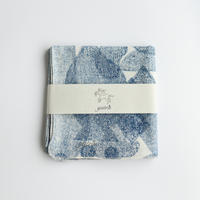 yatra|ハンカチ pottery blue
