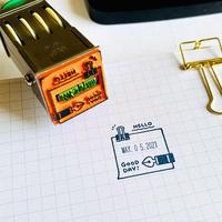 eric|日付印 Mサイズ