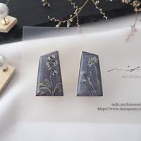 mikimichimasa|- 山野草図 - 紫 pierce P-4