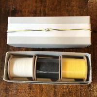 エモジ|結紙 白・黒・黄