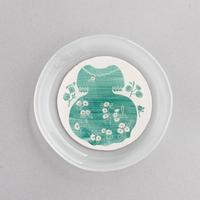 菊田佳代 16ワンピース(オニタビラコ)の丸皿