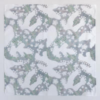 H/A/R/V/E/S/T TEXTILE/DESIGN|ハンカチ snowflower