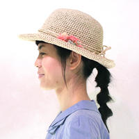 AVRIL|バンブーテープのつばつき帽子 キャンディー