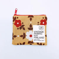 LIFE AND BOOKS|VINTAGE FABRIC POUCH (S)7-9