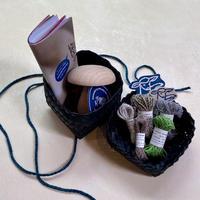 Darning by HIKARU NOGUCH|夏のハンパー ダーニングに必要なものがそろった 夏の針仕事にぴったりのハンパー <GREEN>