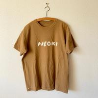 makomo|NEOKI Tシャツ(ブラウン)