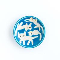 chato|17豆皿 ネコいっぱい