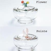 羽鳥景子 |インクポットMサイズ「Flower」「Pointe」