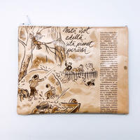 LIFE AND BOOKS   OLD PAPER POUCH (L)9-11