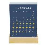 グリーティングライフ MOON 2022 スタンドカレンダー
