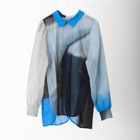 【6月号掲載分】YUI MATSUDA shirt blouse -stone【受注商品:9月中発送】