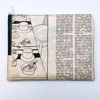 【過去掲載分】LIFE AND BOOKS OLD PAPER POUCH (L)17