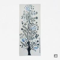 注染手ぬぐいにじゆら|GARDEN TREE ブルー