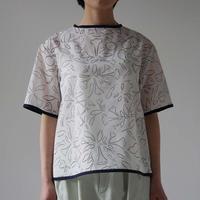 Canako Inoue| garden / トップス white-black