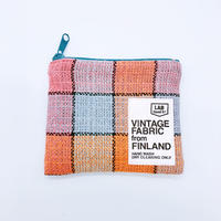 LIFE AND BOOKS|VINTAGE FABRIC POUCH (S)7-5