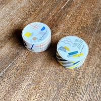 【6月号掲載分】水縞|【新商品】マスキングテープ カルテット 2種セット