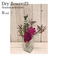 Dryflower:f3 f3セレクション季節のお花セットB