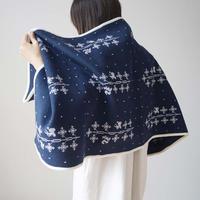 Canako Inoue 「雪の木」 snow tree / Blanket M【受注商品:2月中発送】