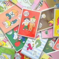 ニシワキタダシ|ざっくりしたポストカードセット