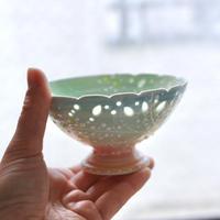 みかガマ|ミモザ蛍手デザートカップ