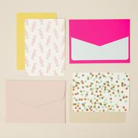 DRESSENSE|【紙博限定・DEADSTOCK】ベルギー製活版印刷カード&封筒set キャンディー