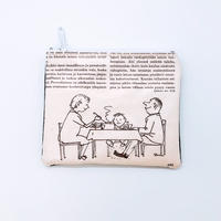 LIFE AND BOOKS   OLD PAPER POUCH (S)8-5