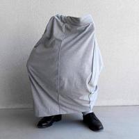 pssst,sir | trom_skirt (cotton) / moku gray