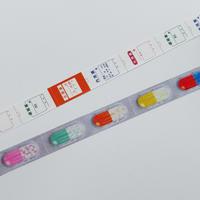 cobato|マスキングテープ「おくすり(薬袋・カプセル)」 2種セット