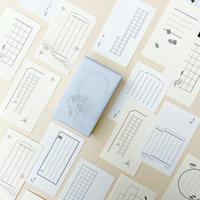 裏具|活版印刷「一言札」12種(120枚入)