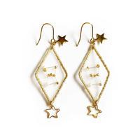 patterie|STAR DIAMOND PIERCE/EARRING - オリオン座【受注商品:11月中発送】