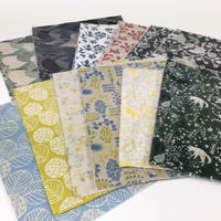 【8月号販売分】点と線模様製作所|カットクロスセット 刺繍