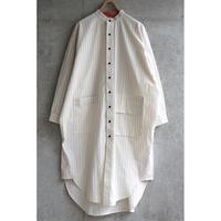 sneeuw ロングシャツ stripe【受注商品:1月中発送】