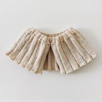 L'Effrontée|付け襟ロングタイプ アイボリー【受注商品:2月中発送】
