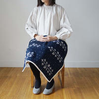 Canako Inoue 「雪の木」 snow tree / Blanket S white【受注商品:2月中発送】