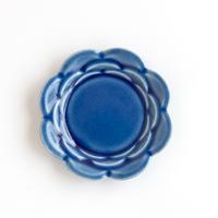 ceramic studio blank 5リンカ小皿 116mm 瑠璃