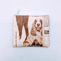 LIFE AND BOOKS OLD PAPER POUCH (S)15