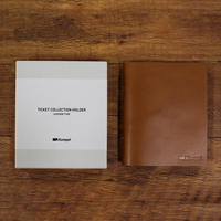 Kumpel|【月刊手紙舎限定】チケットコレクションホルダー本革タイプデビューセット