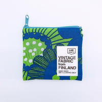 LIFE AND BOOKS|VINTAGE FABRIC POUCH (S)7-6
