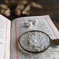 Shizuka, d.s.   Seeds with antique beads