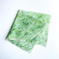 いとうりえこ|コットンハンカチ(草原)